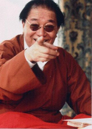 dudjom rinpoche laughing