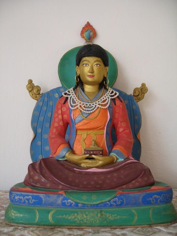Sera Khandro statue