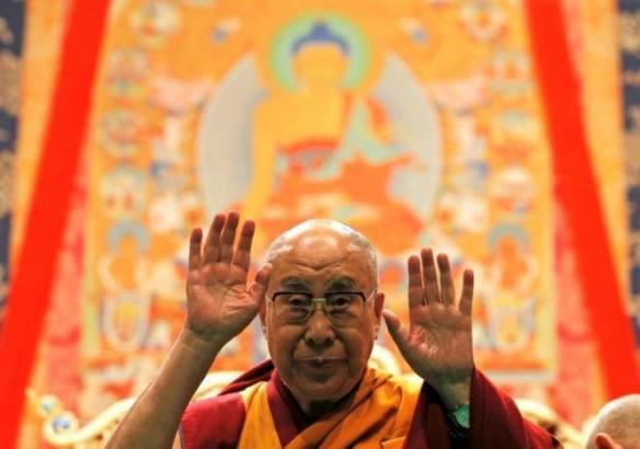 dalai lama fingers